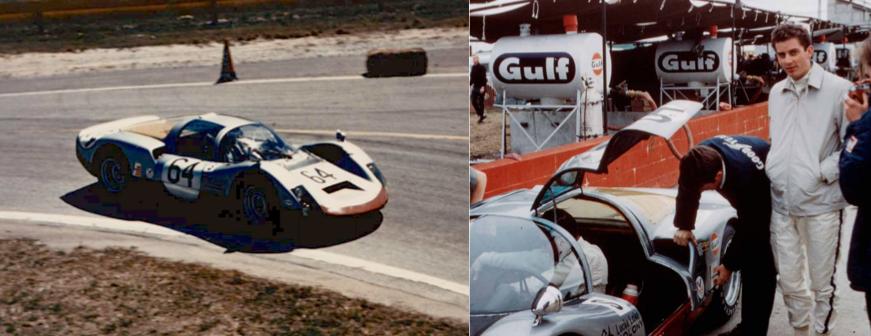 Bob Bailey - 1968 Sebring, FL, 12-Hours of Endurance, Porsche 906 - 1st in Class