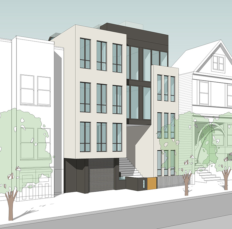 Rendering from 15th Street
