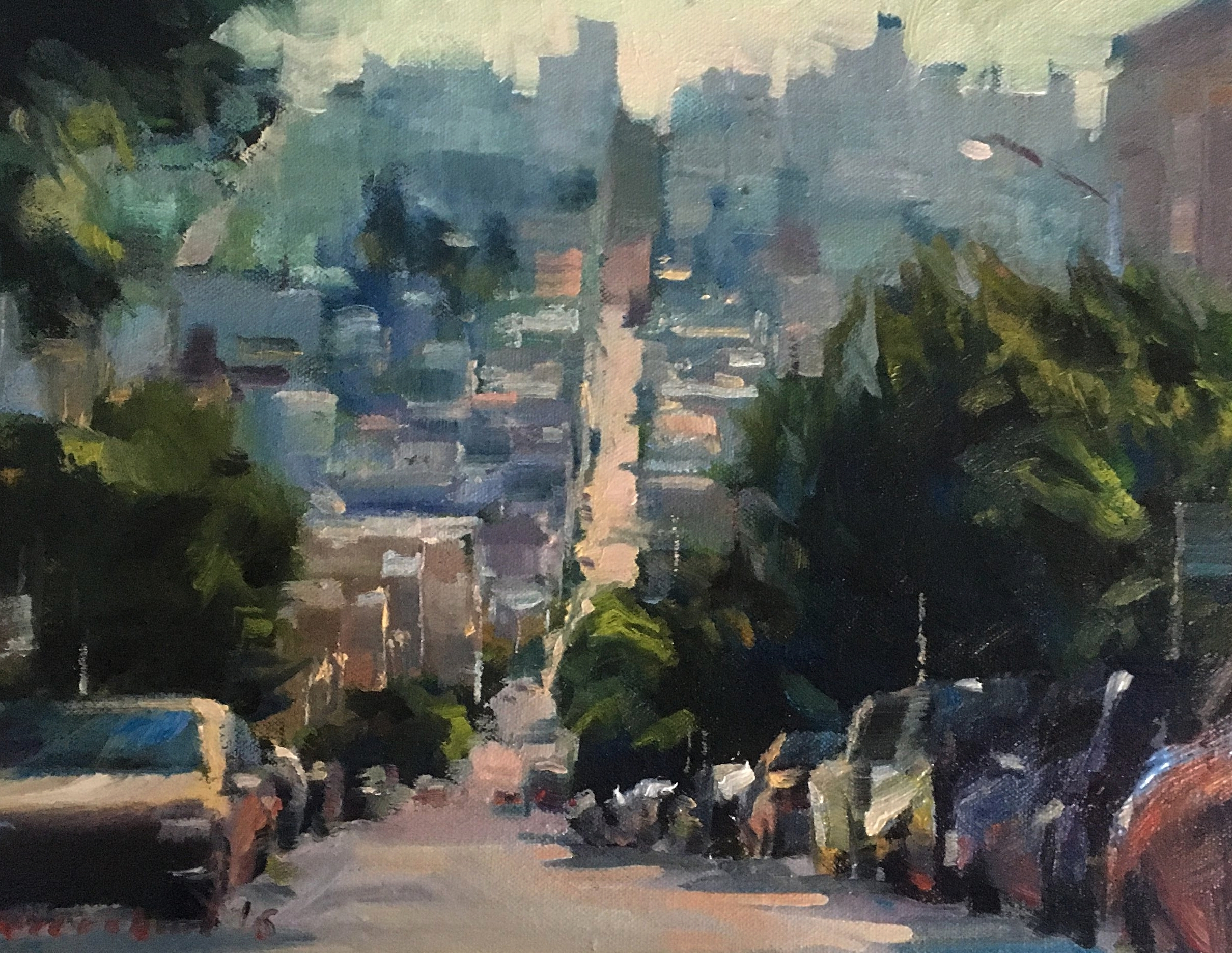 RUSSIAN HILL / SOLD