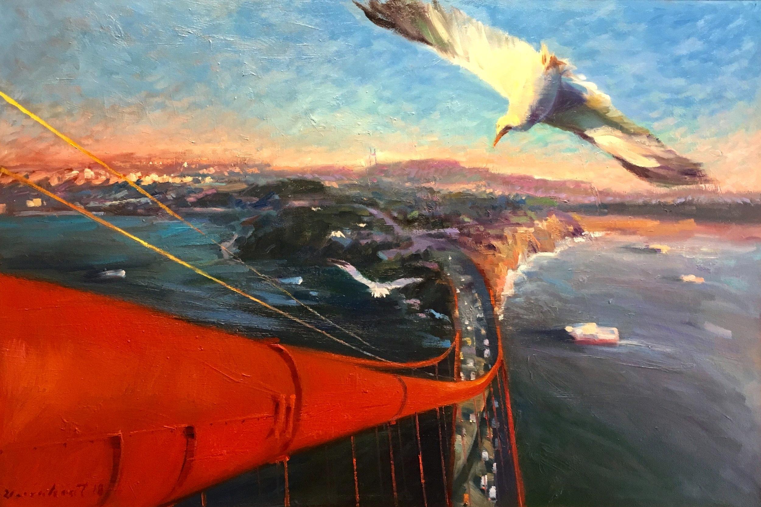 BIRD EYES VIEW #3 / SOLD