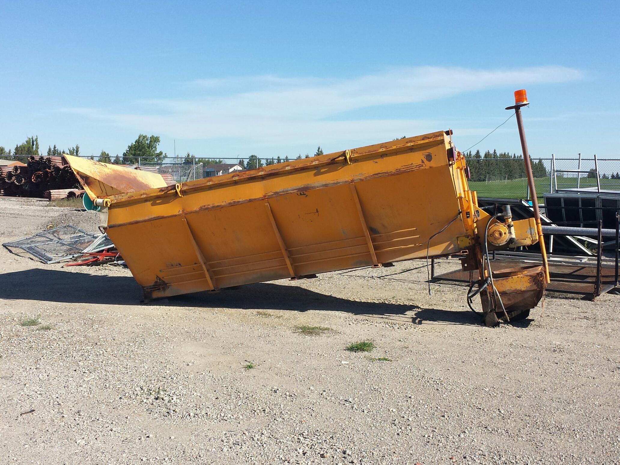 Used Sander for Tandem Truck