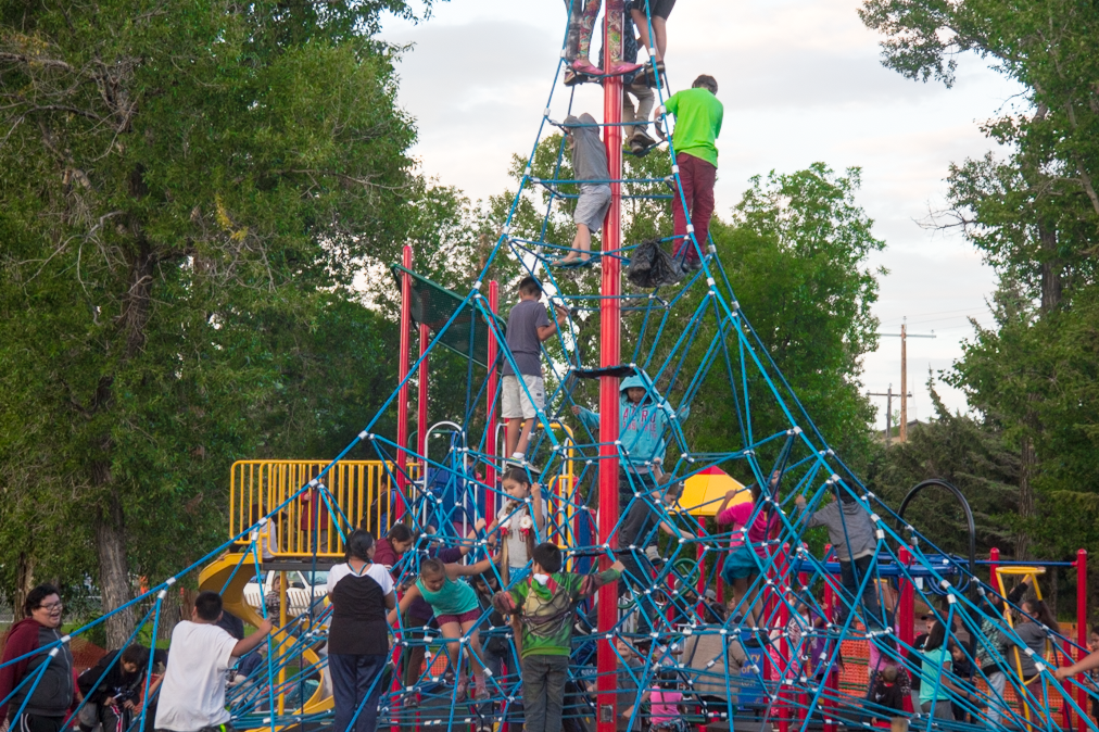 Did you know that the new Genesis pyramid structure is rated to hold 140 kids at once?