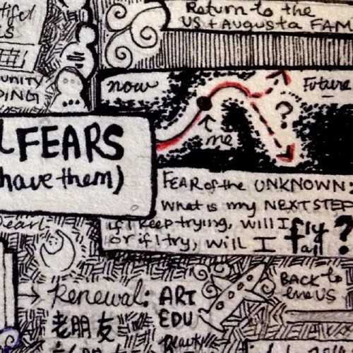 ^I drew this section a month ago. The fear I described is still relevant