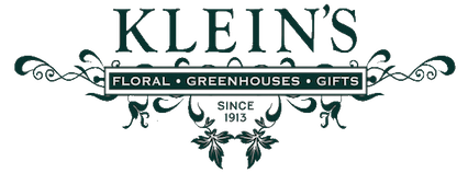 Klein's - We pride ourselves in the fact that we continue to grow most of our enormous selection of annuals, vegetables, herbs, perennials and shrubs on site. Our retail area stocks a broad selection of soils, mulches, natural and organic fertilizers and pest control, garden gifts, lawn ornaments and pottery; in addition to one of the largest selections of indoor and blooming plants in the area.