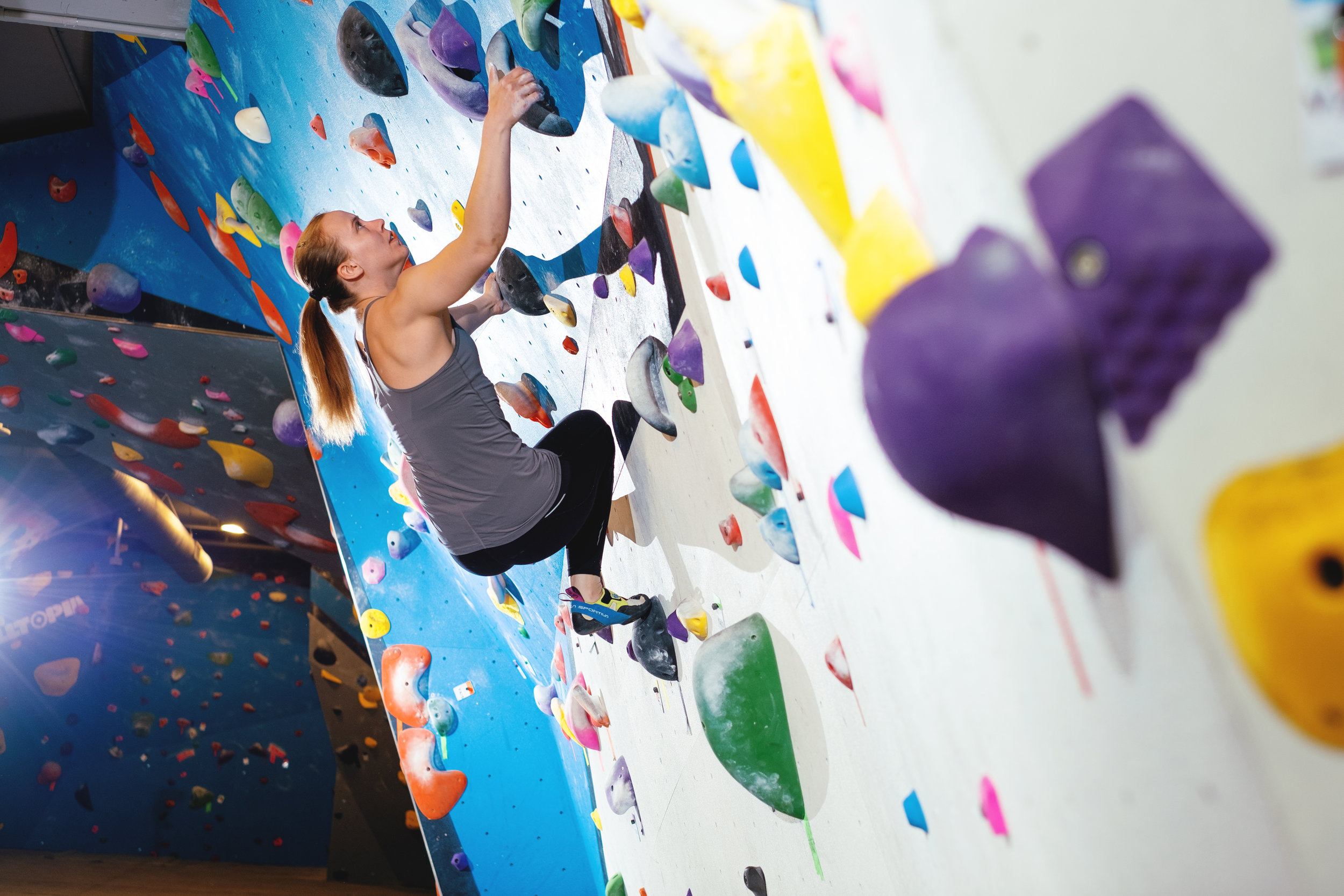 Intro to Bouldering -