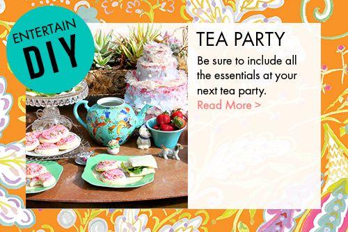 Tea party essentials