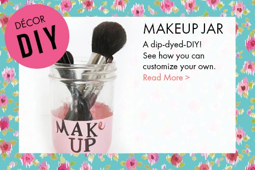 DIY makeup jar