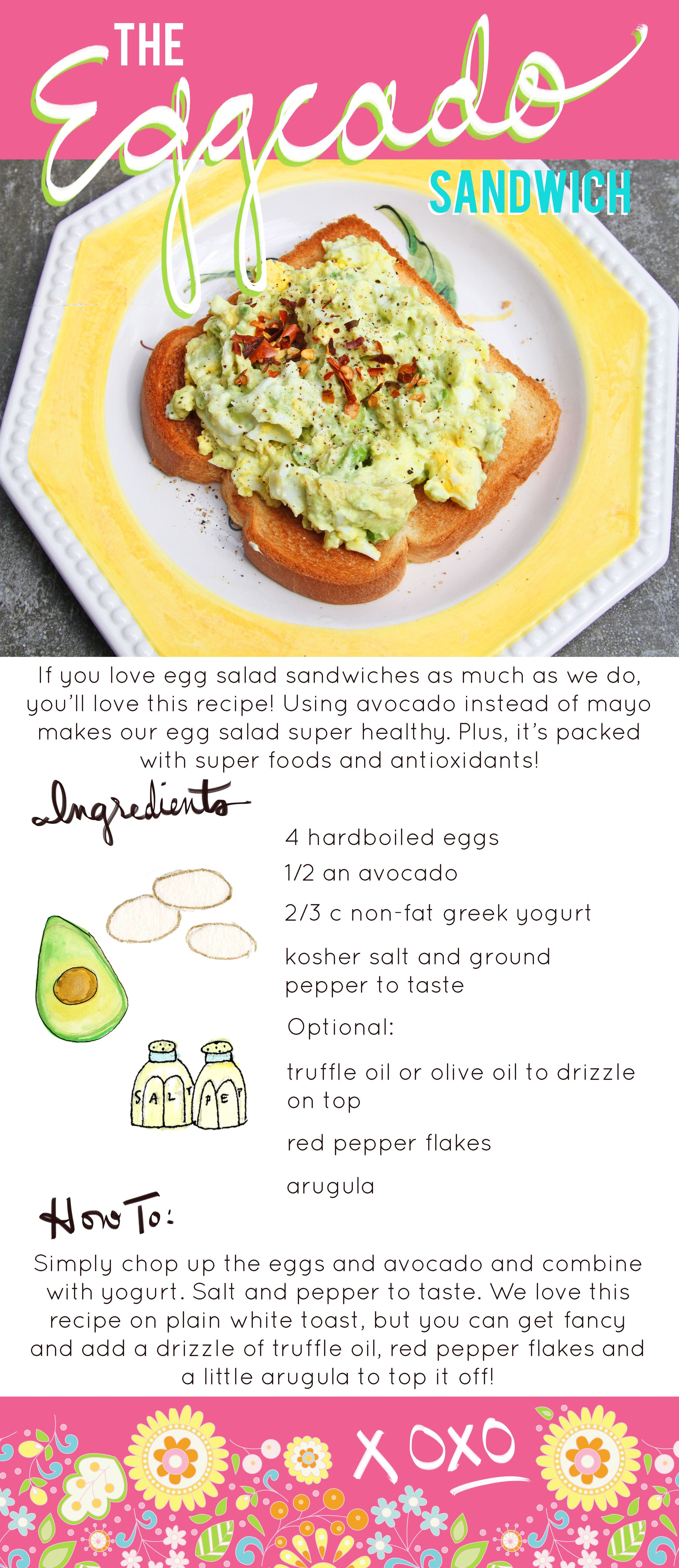 Eggcado Sandwich