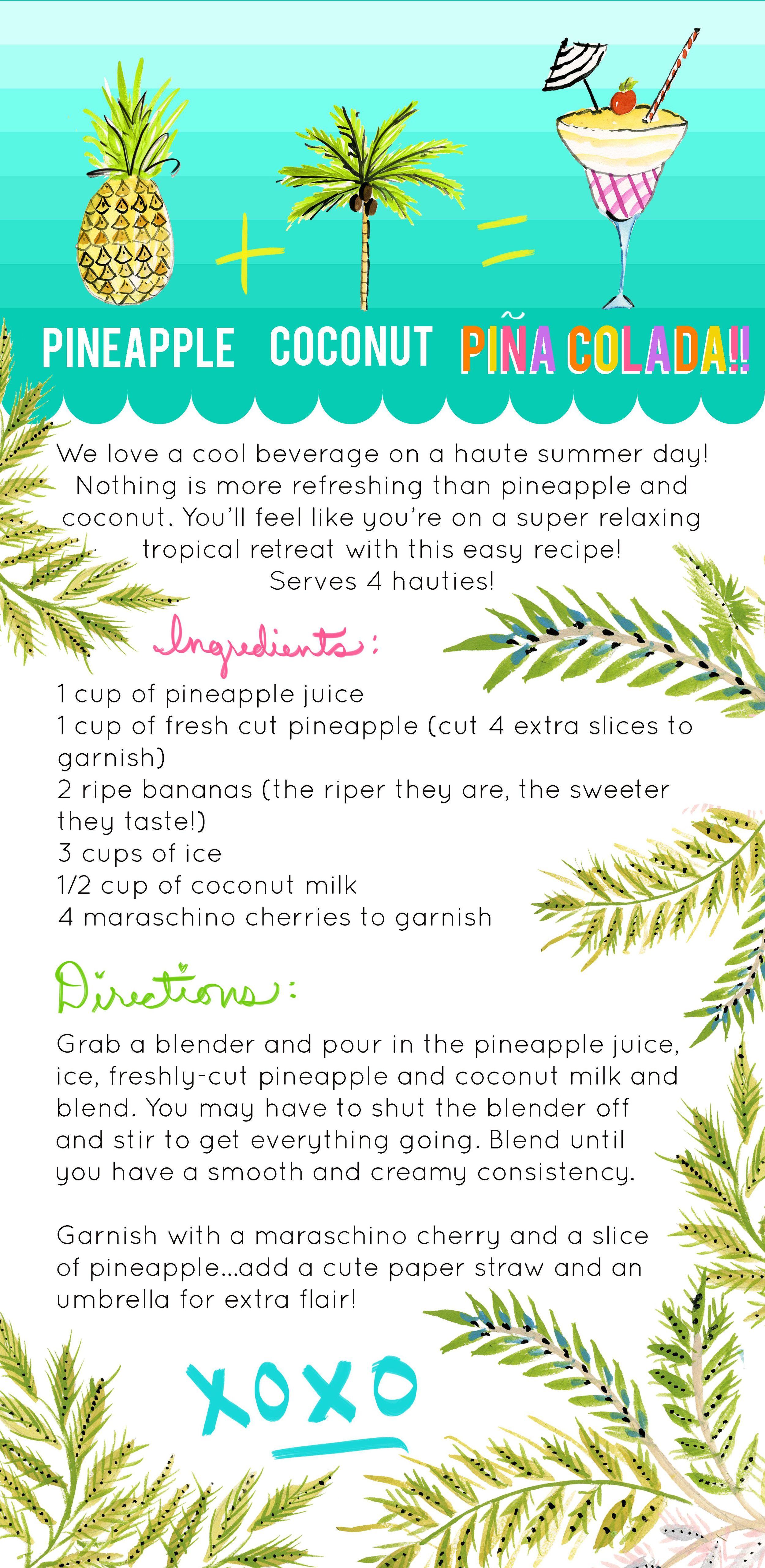 Best Pina Colada Recipe