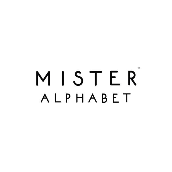 Mister Alphabet Logo (wordmark)