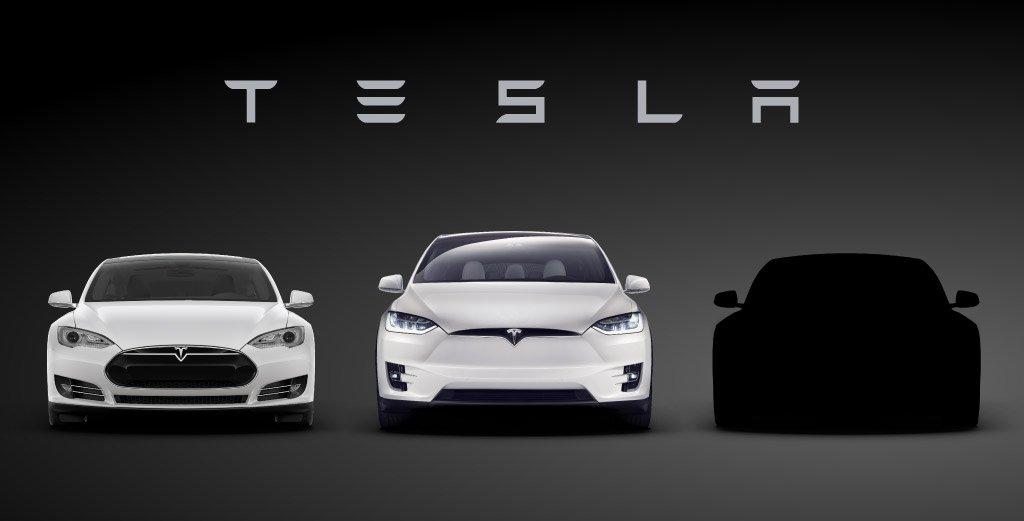 Tesla's Tease for the Model 3 Reveal