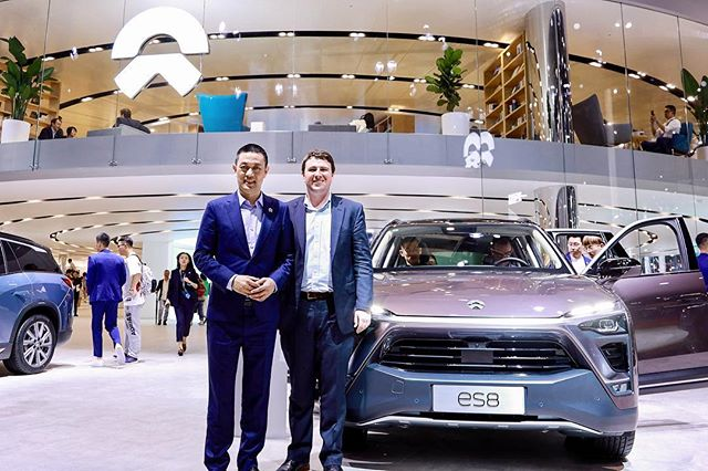 Well, I'm back with another NIO post... Last week was seriously epic. From the auto show, to battery swap stations, to their factory, NIO's operation was incredible to see. Getting to chat with such an innovator like William Li was inspiring. It was a once in a lifetime opportunity to combine work and  school in such a unique way. Until next time Shanghai!