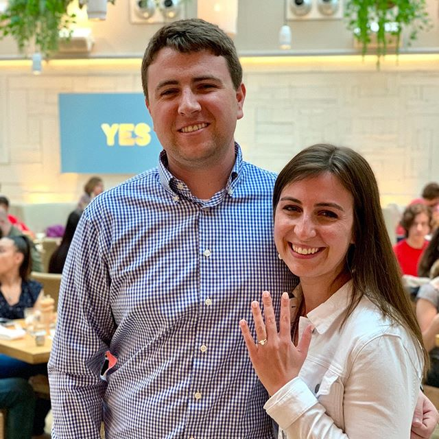 Congratulations to Alexis and Brock!!!