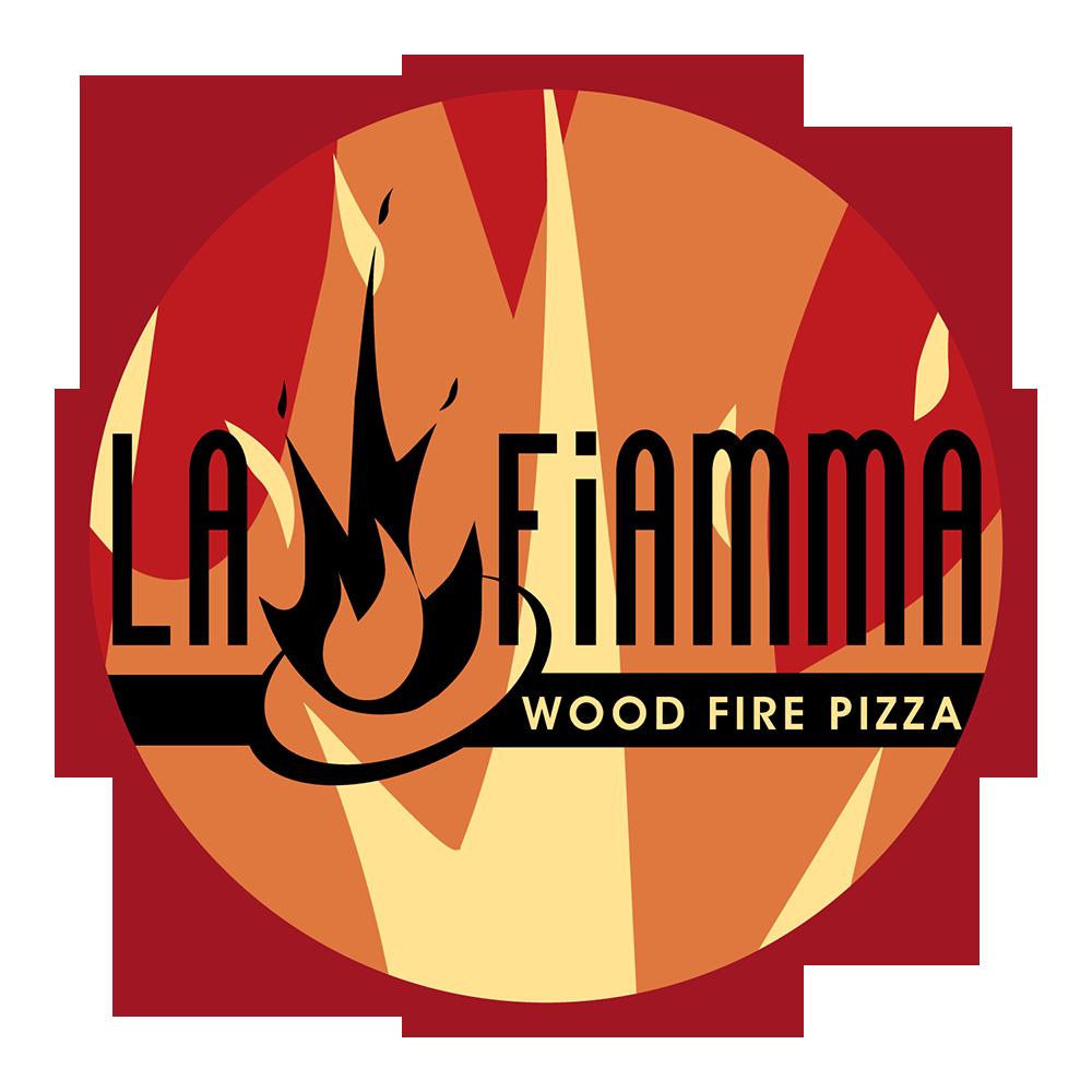 Click to download La Fiamma :: Wood Fire Pizza logos .