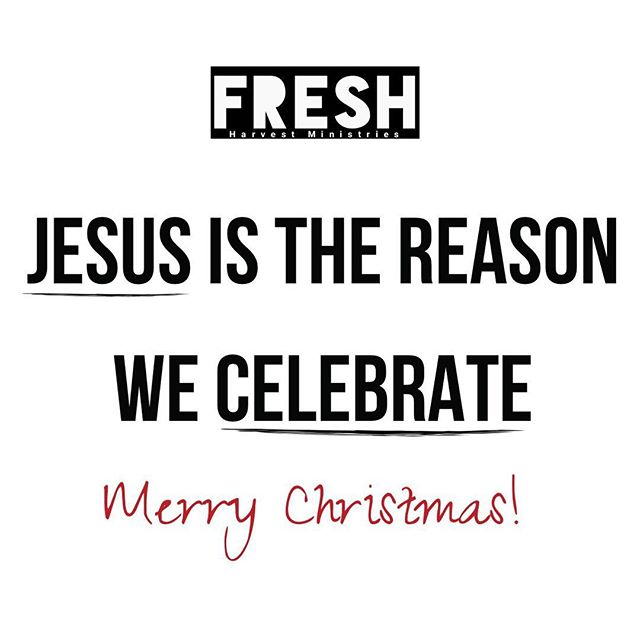 Merry Christmas from the FRESH family to your family!