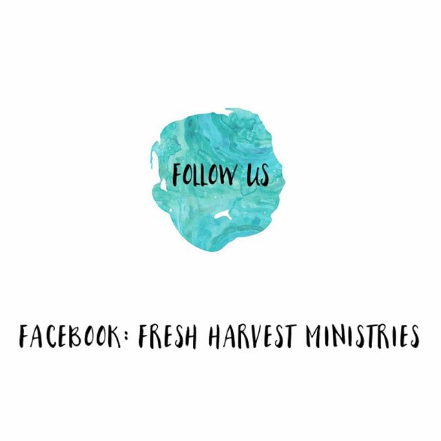 Instagram! We have some awesome things coming up at FRESH! Guest speakers, giveaways, and more! Be sure to follow us on Facebook to stay updated on all things FRESH!