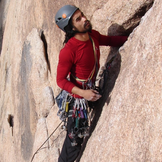 Lead climbing los angeles