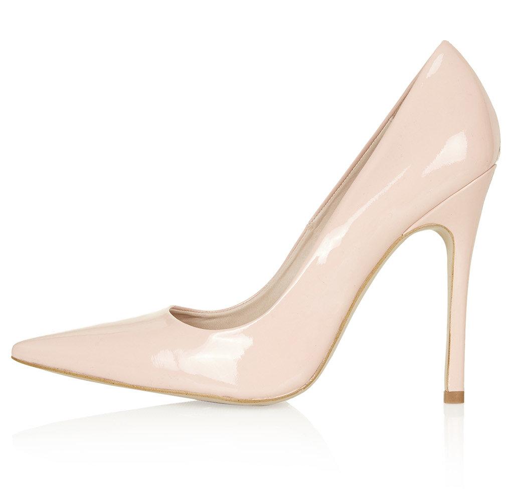 Topshop - Gallop Patent Court Shoes