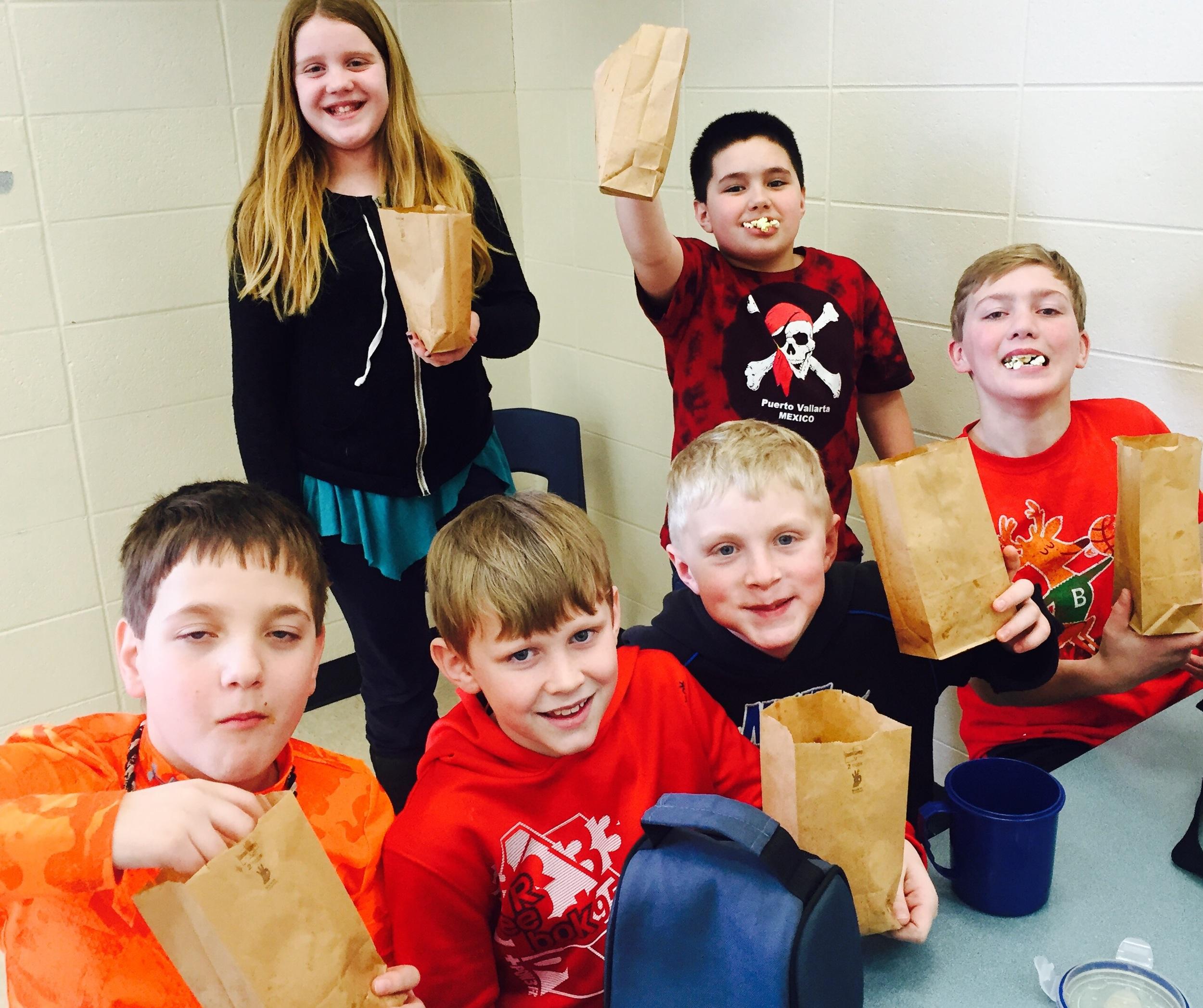 3rd-5th Grade Cohort Table Winners