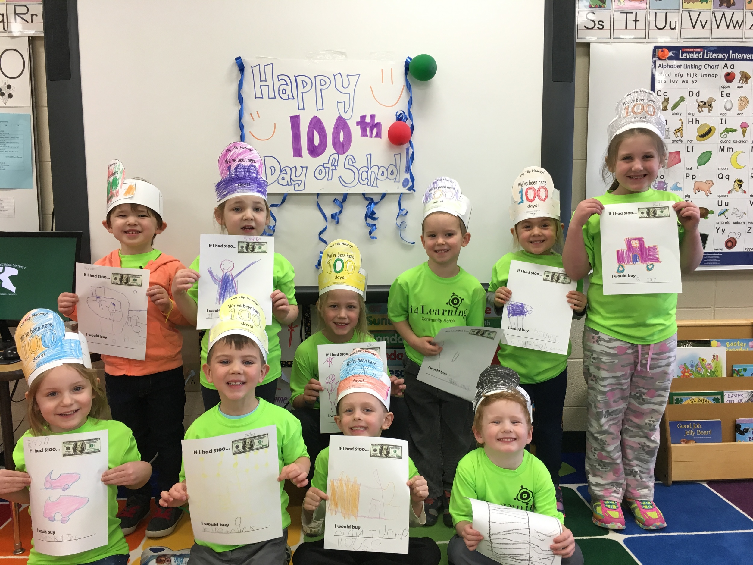 100th day! What would you buy with $100?