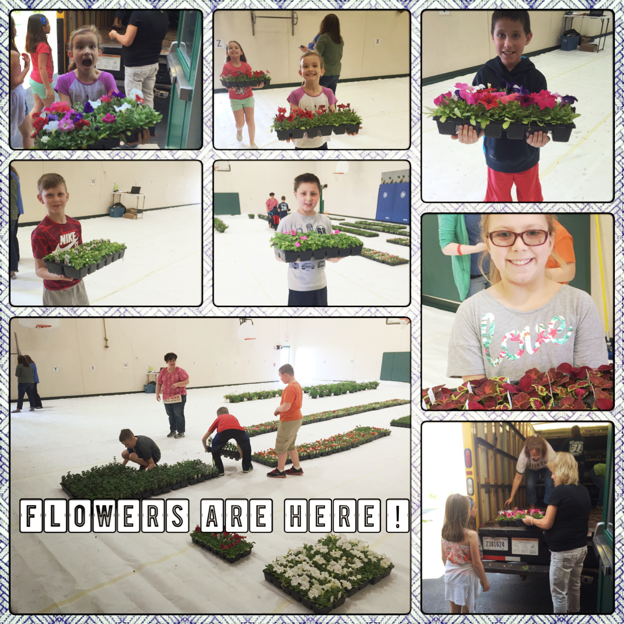 """Also another big """"Thank you"""" for supporting our Annual i4L Flower Sale, it was very successful year!"""