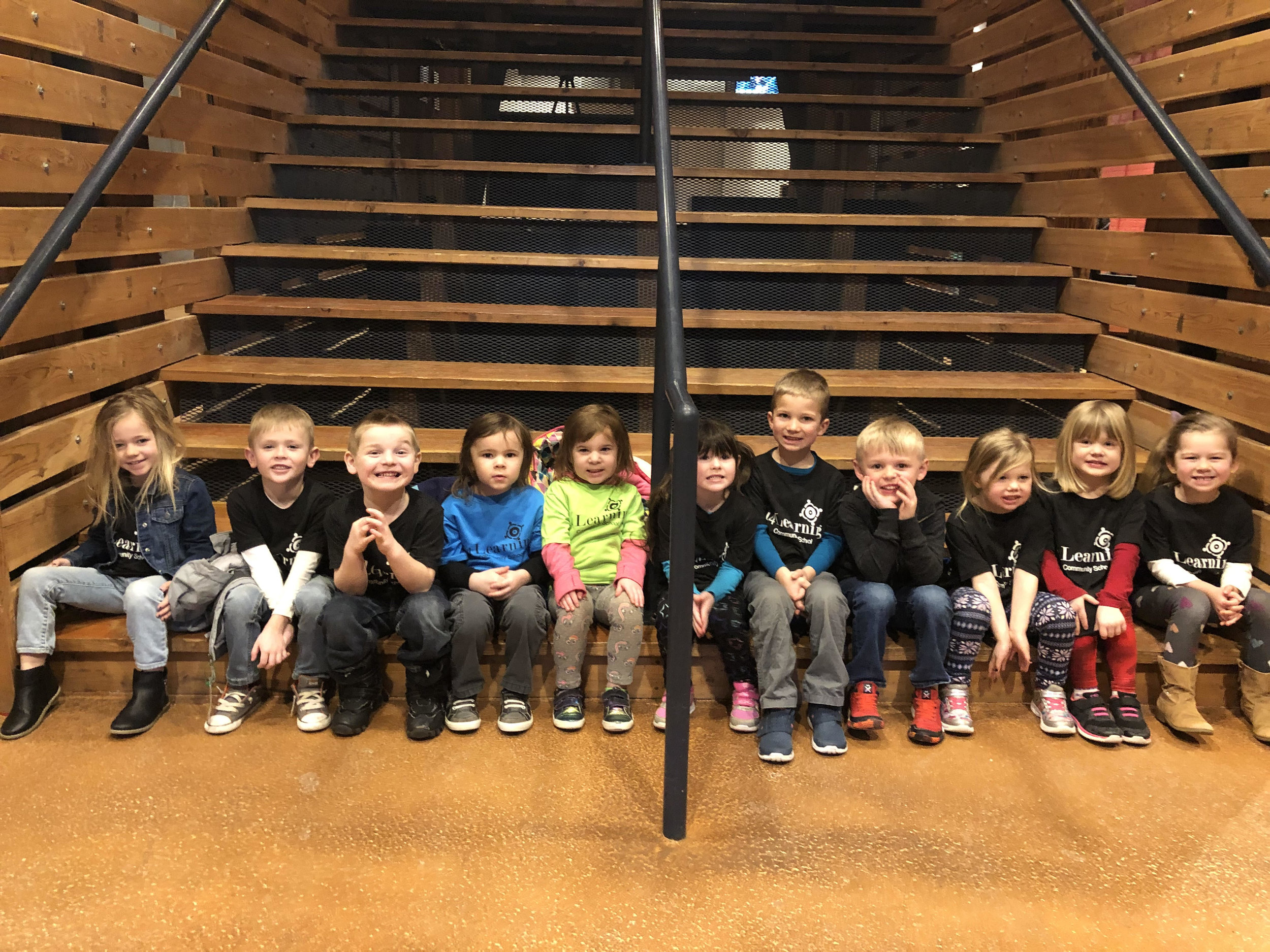 They all enjoyed the science show at the Schauer Arts Center