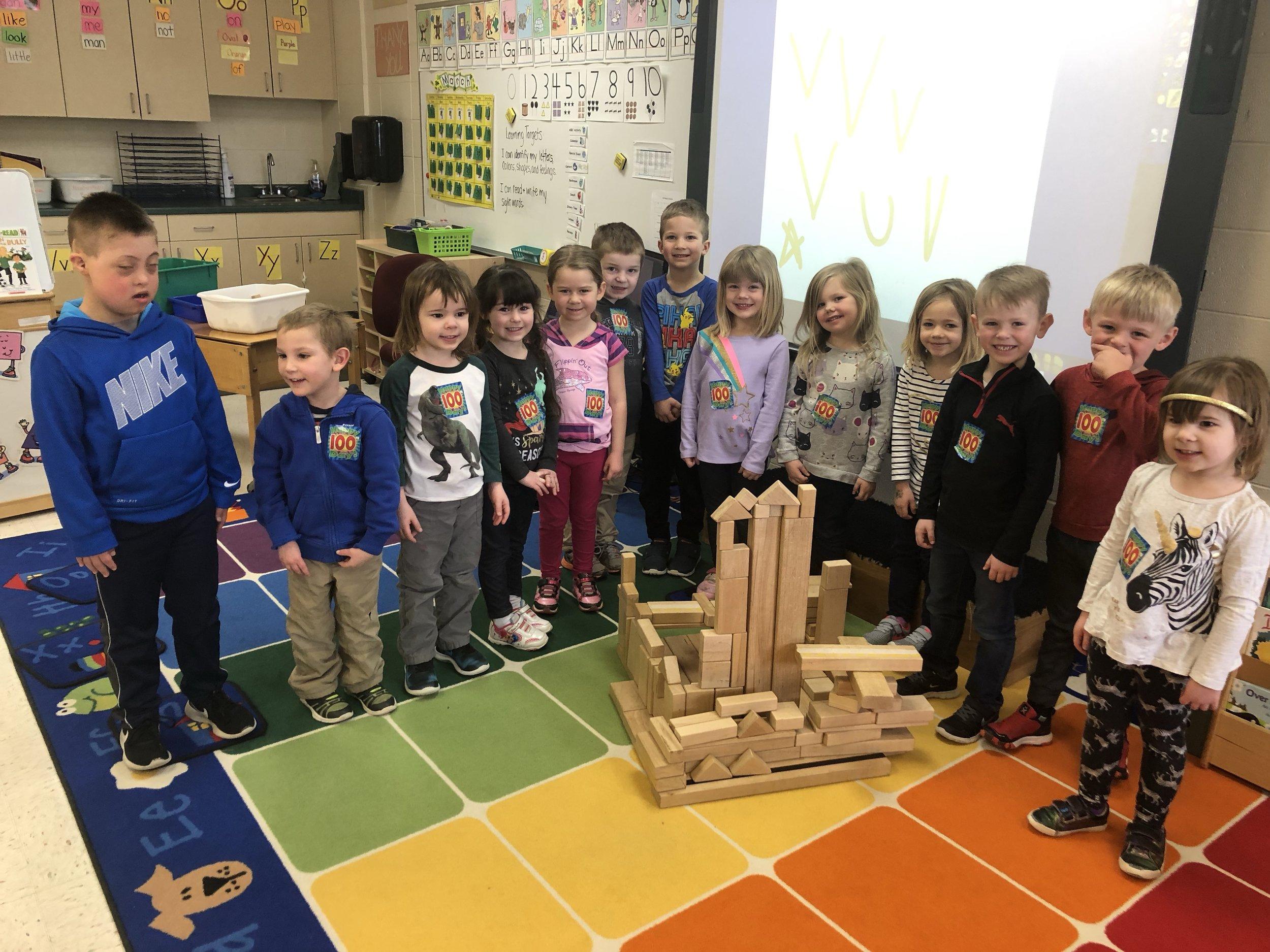 100 block castle