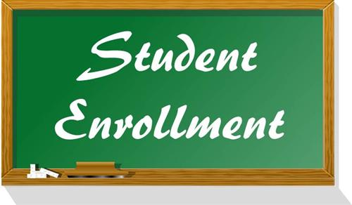 Student Enrollment for 2019-2020 School Year