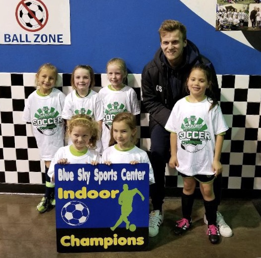 Indoor Champions! - Congratulations, Team! Well done job coming in 1st place!
