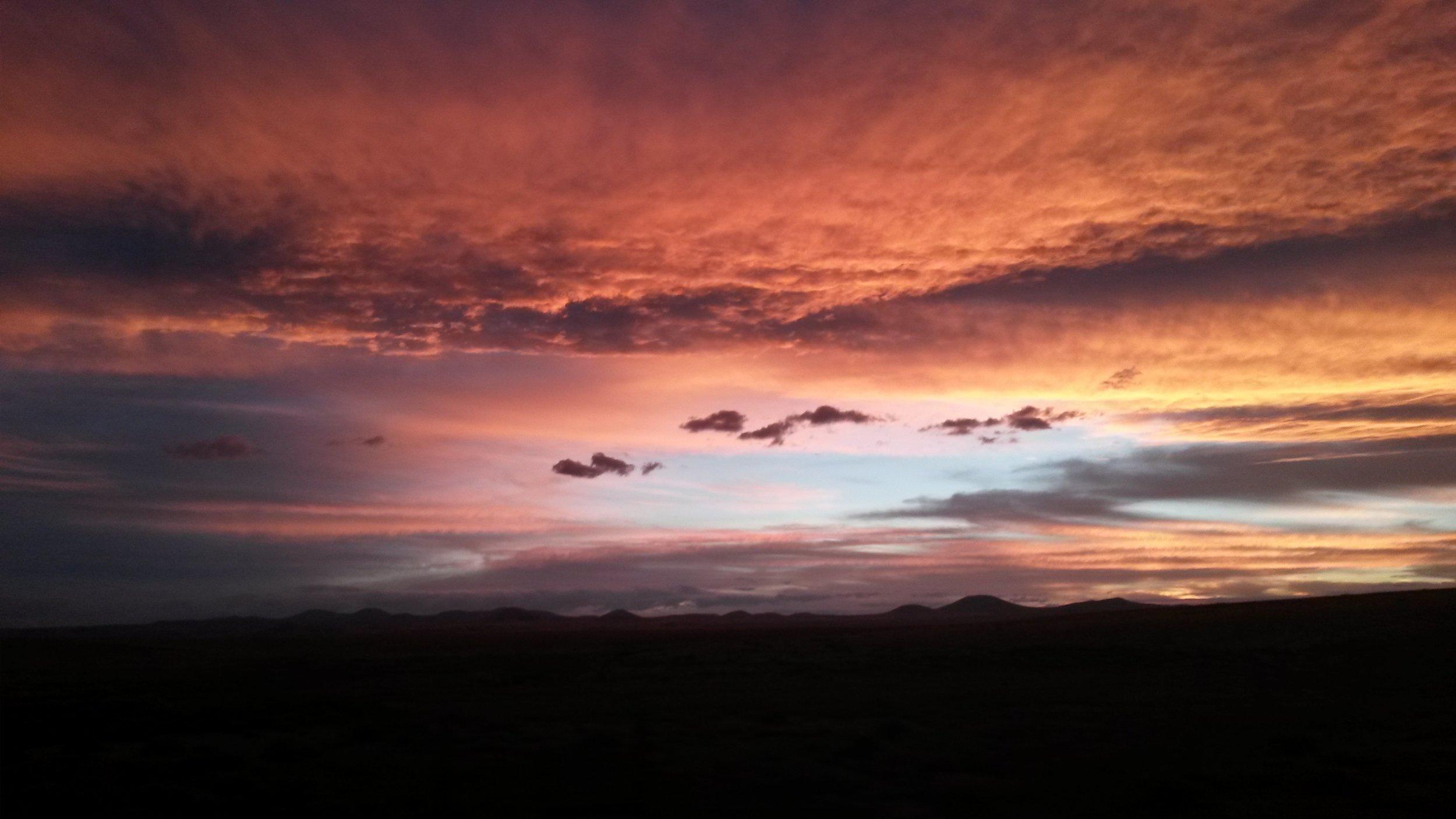 Sunset on SVP
