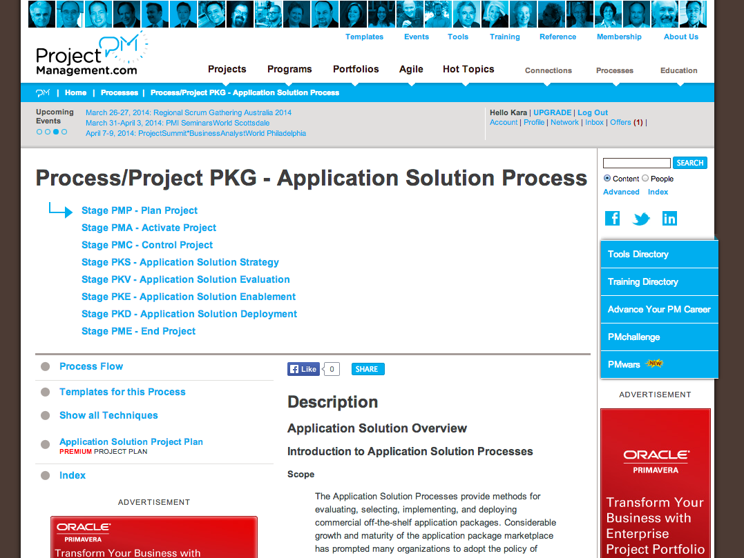 Application Solution Process