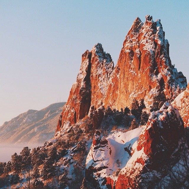 Garden of the gods, Colorado Springs, Colorado