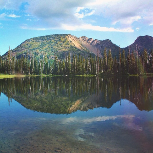Tom Tom Lake, Flathead County, MT