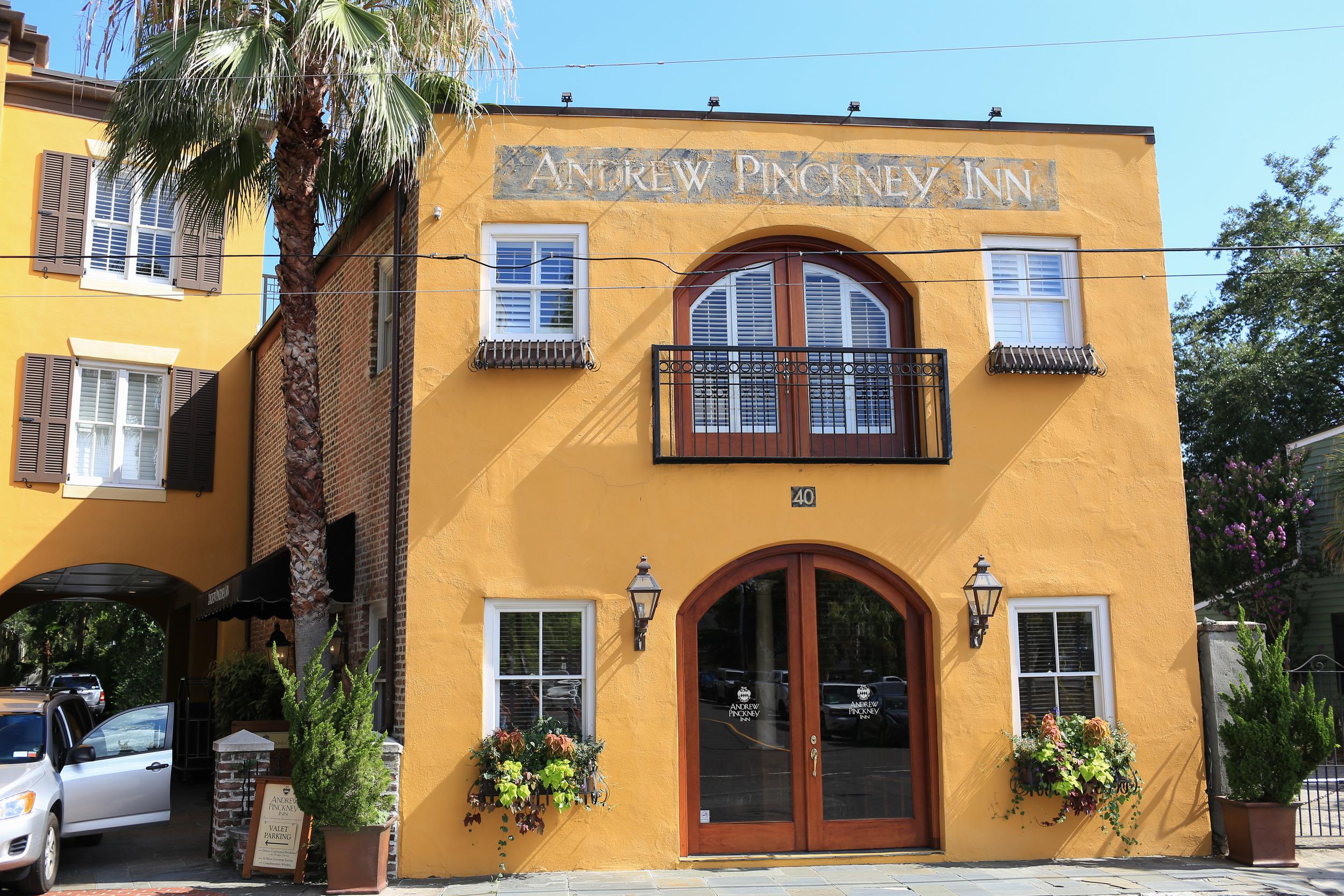 Andrew Pinckney Inn, Charleston, Jon Courville Photography