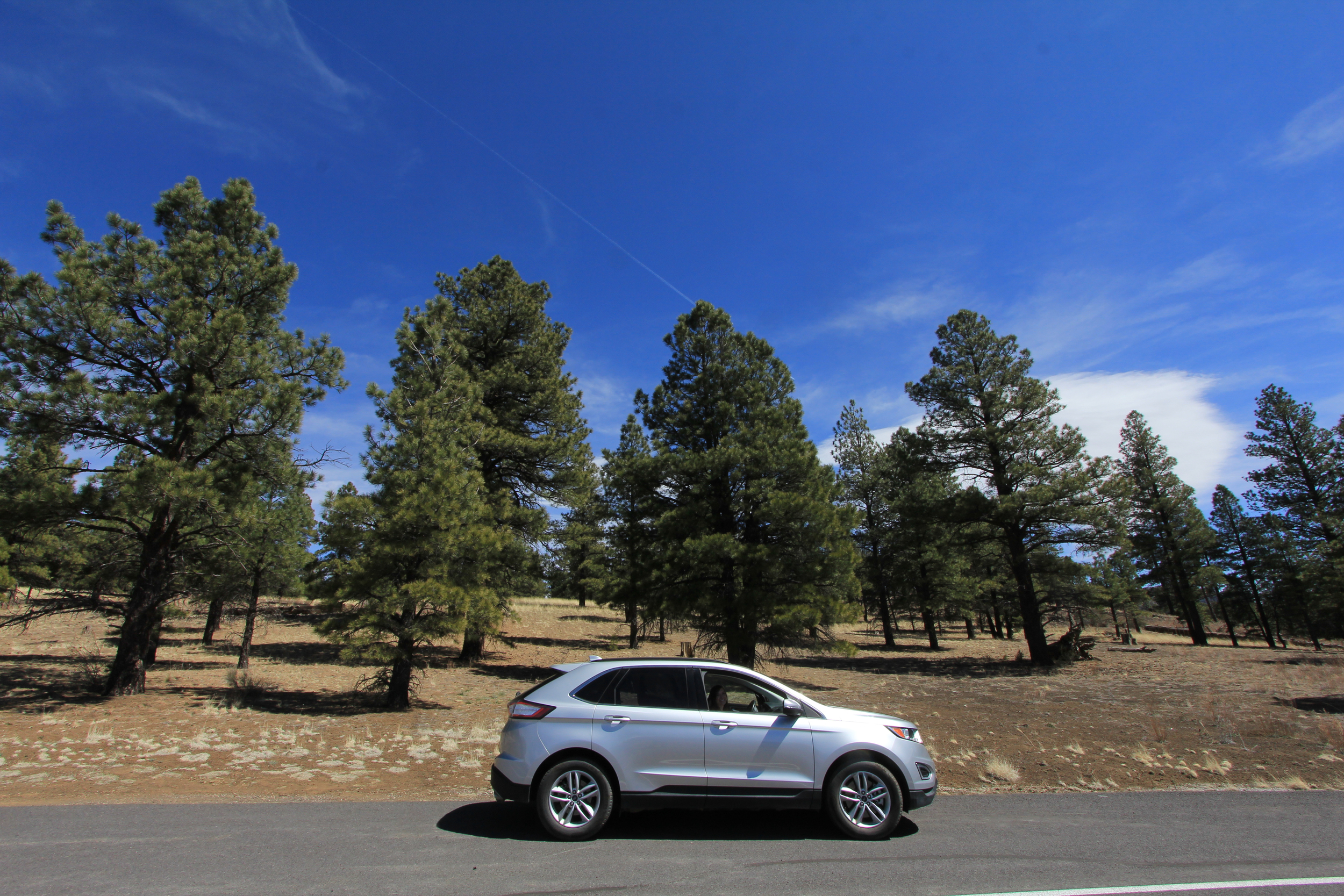 crater mountain, Arizona, Ford Edge, Jon Courville Photography