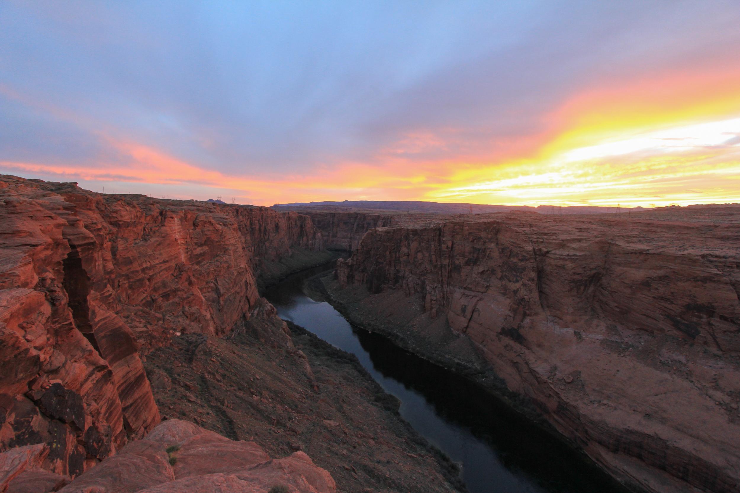 Page, Arizona, Sunset, Jon Courville Photography