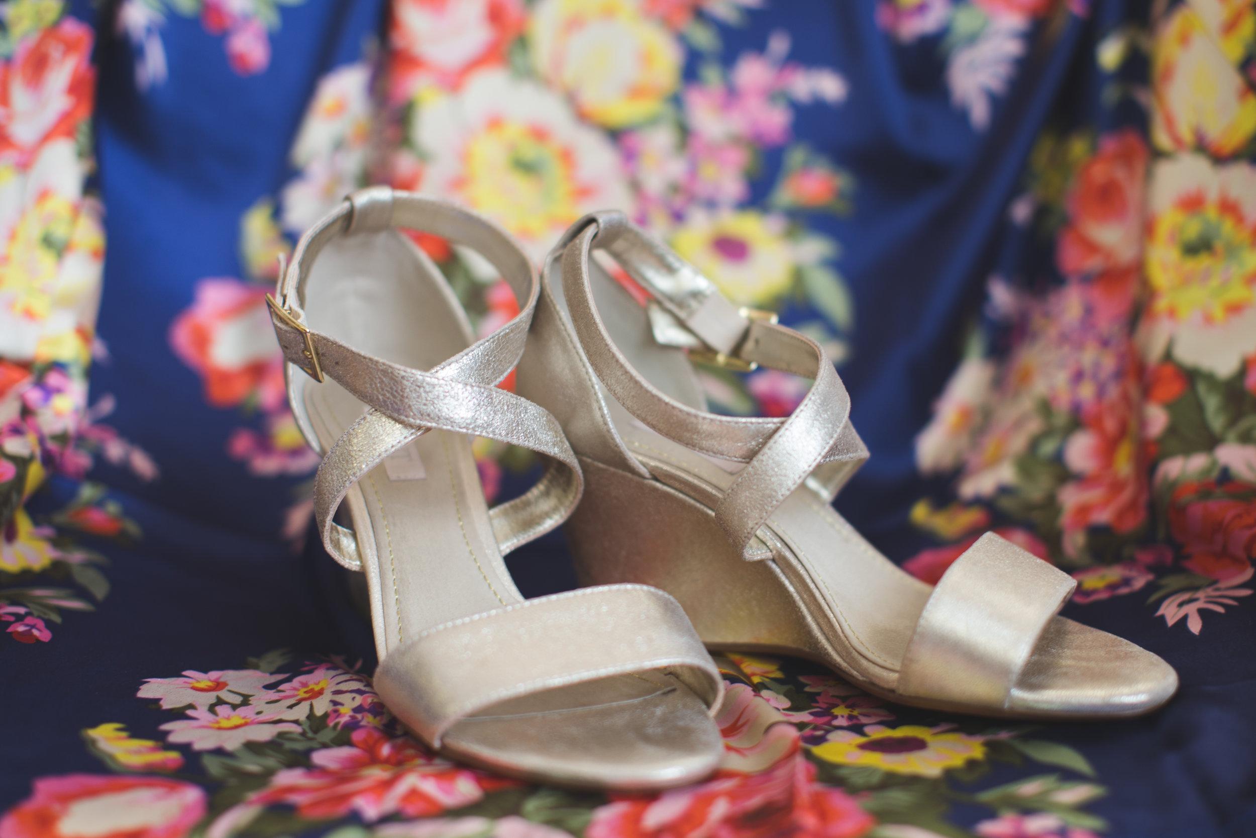 Bridal Shoes Jon Courville Photography