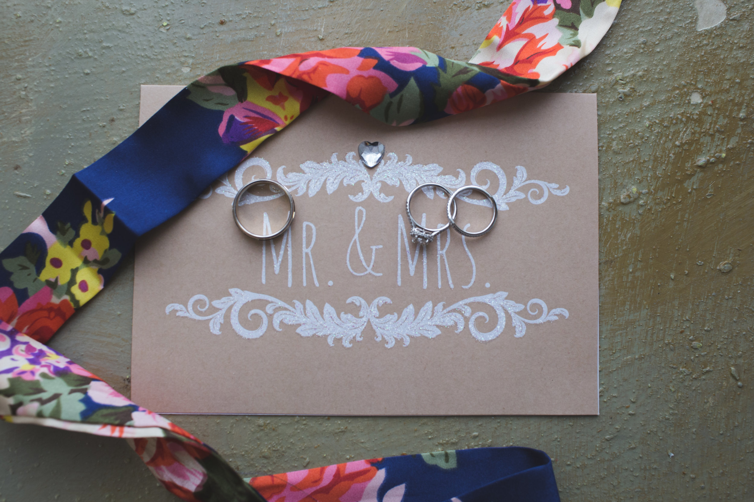 Mr. and Mrs. Rings Jon Courville Photography