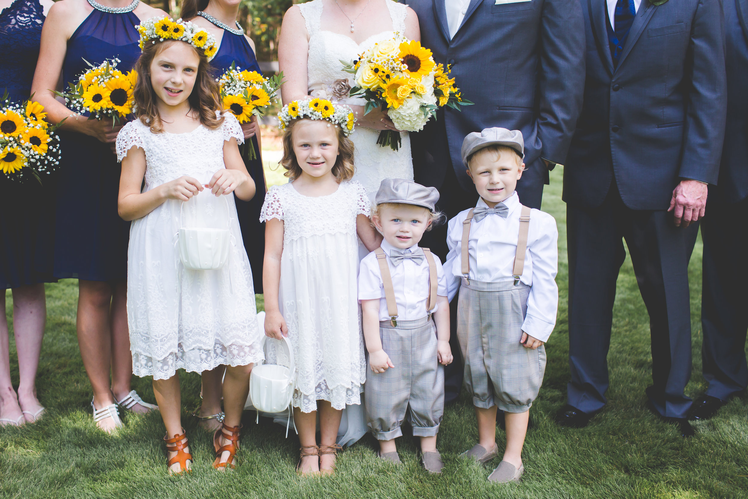 Copy of Flower girls, ring bearers
