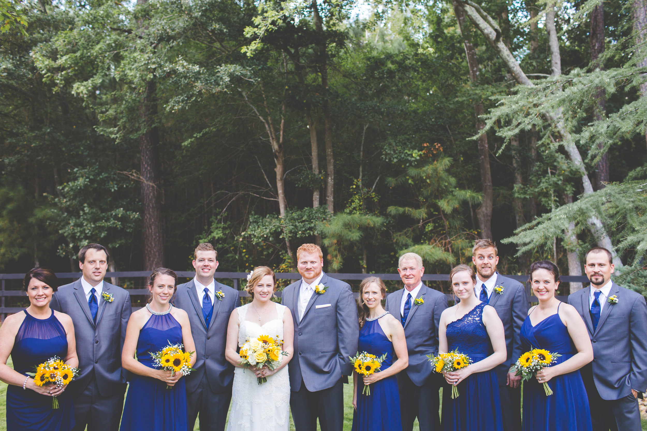 Copy of Wedding party portraits