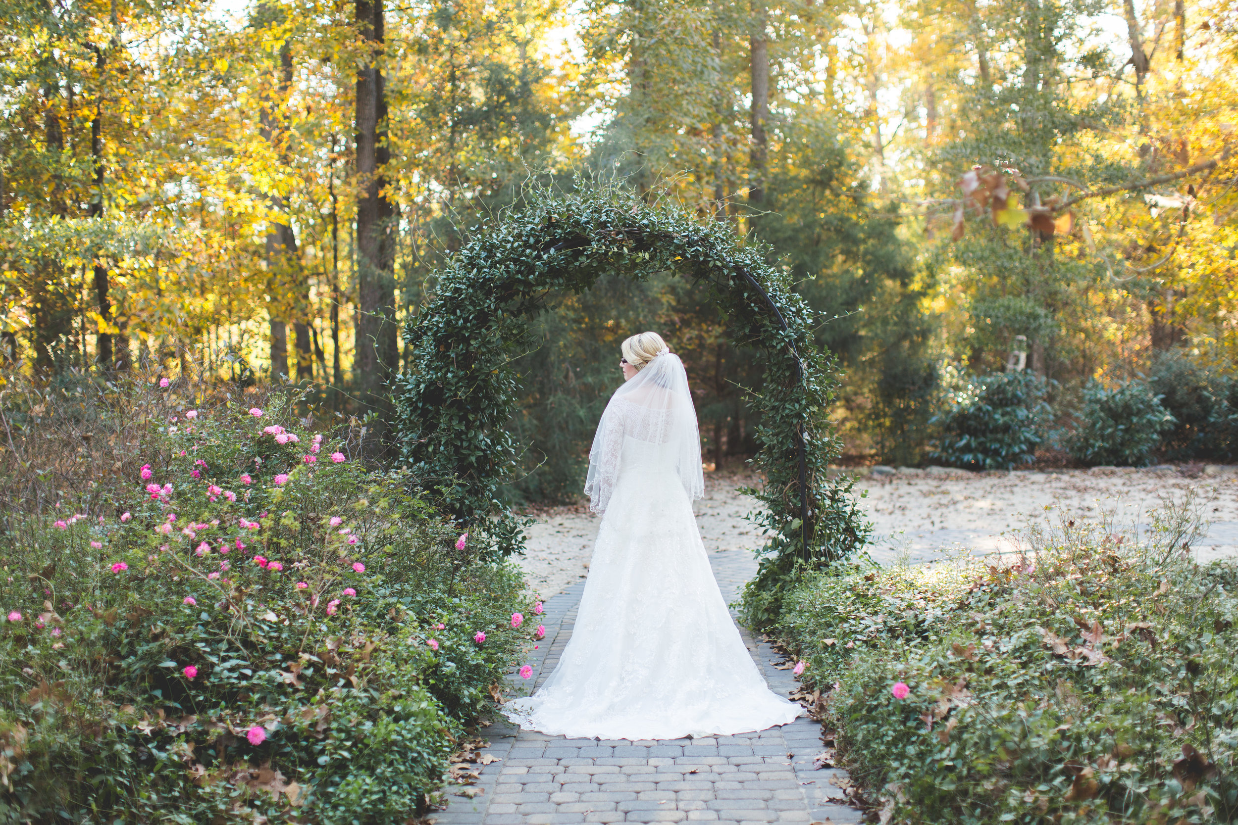 Morning Glory Farm Wedding and Events Bridal Session
