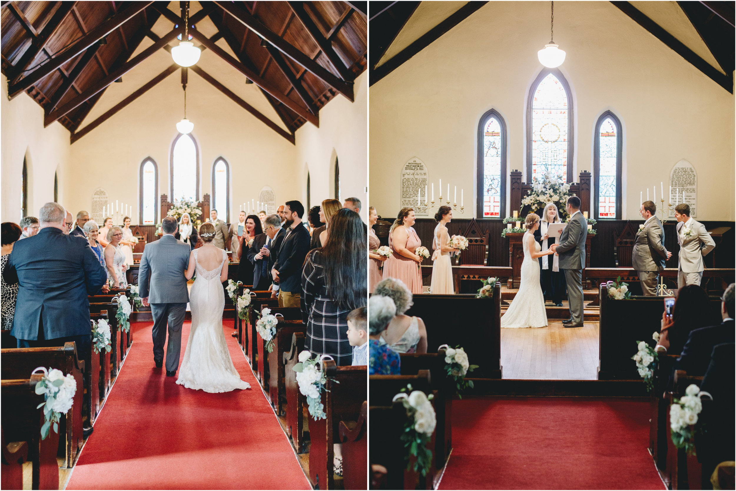 St. Mary's Chapel Wedding