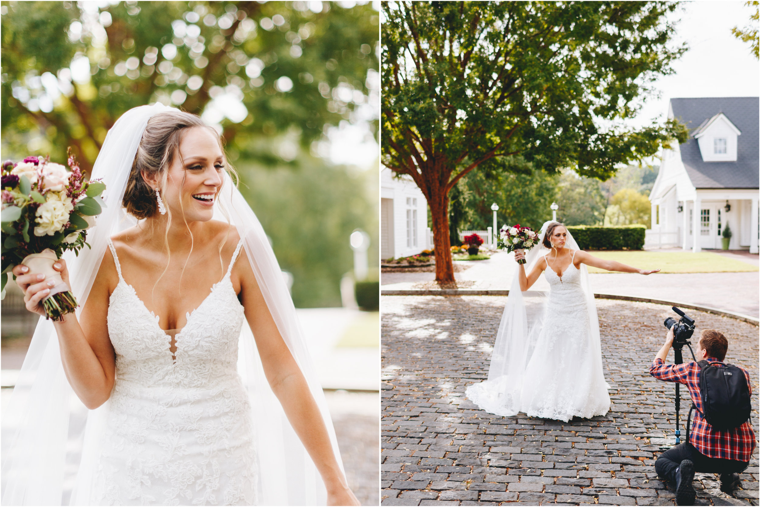 Fun Bridal Portraits