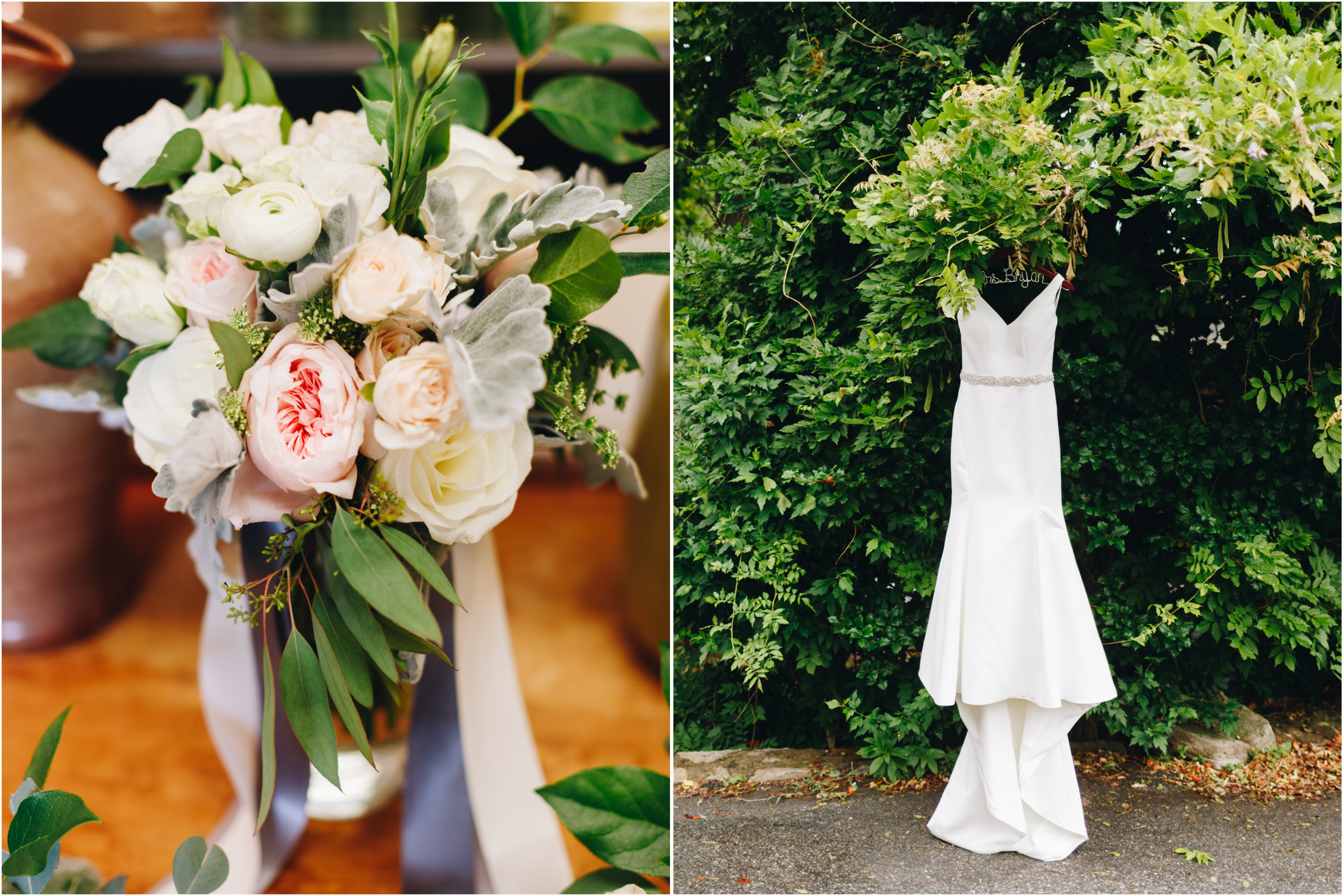Intimate Mountain Asheville Wedding Florals