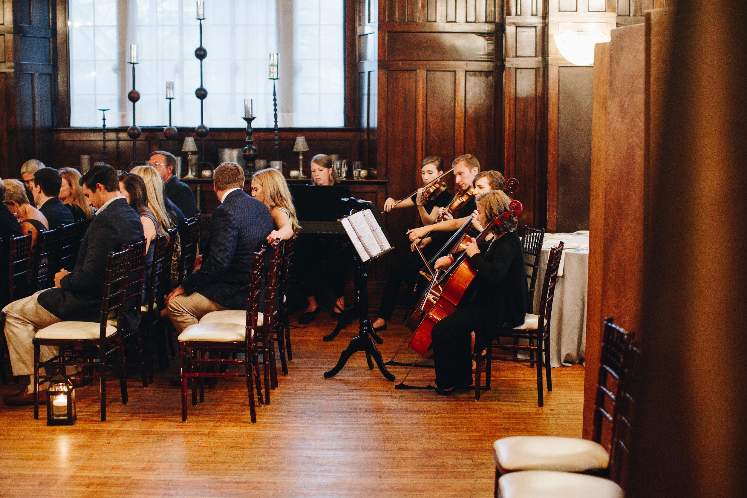 charlotte NC String quartet for weddings