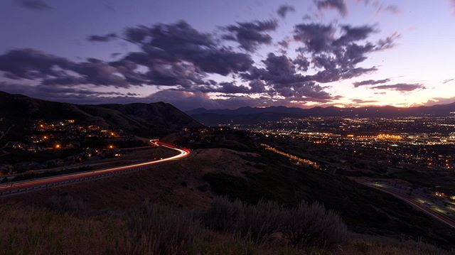 Another shot from this amazing spot near SLC. 30 second exposure. #potatohill #slcnature