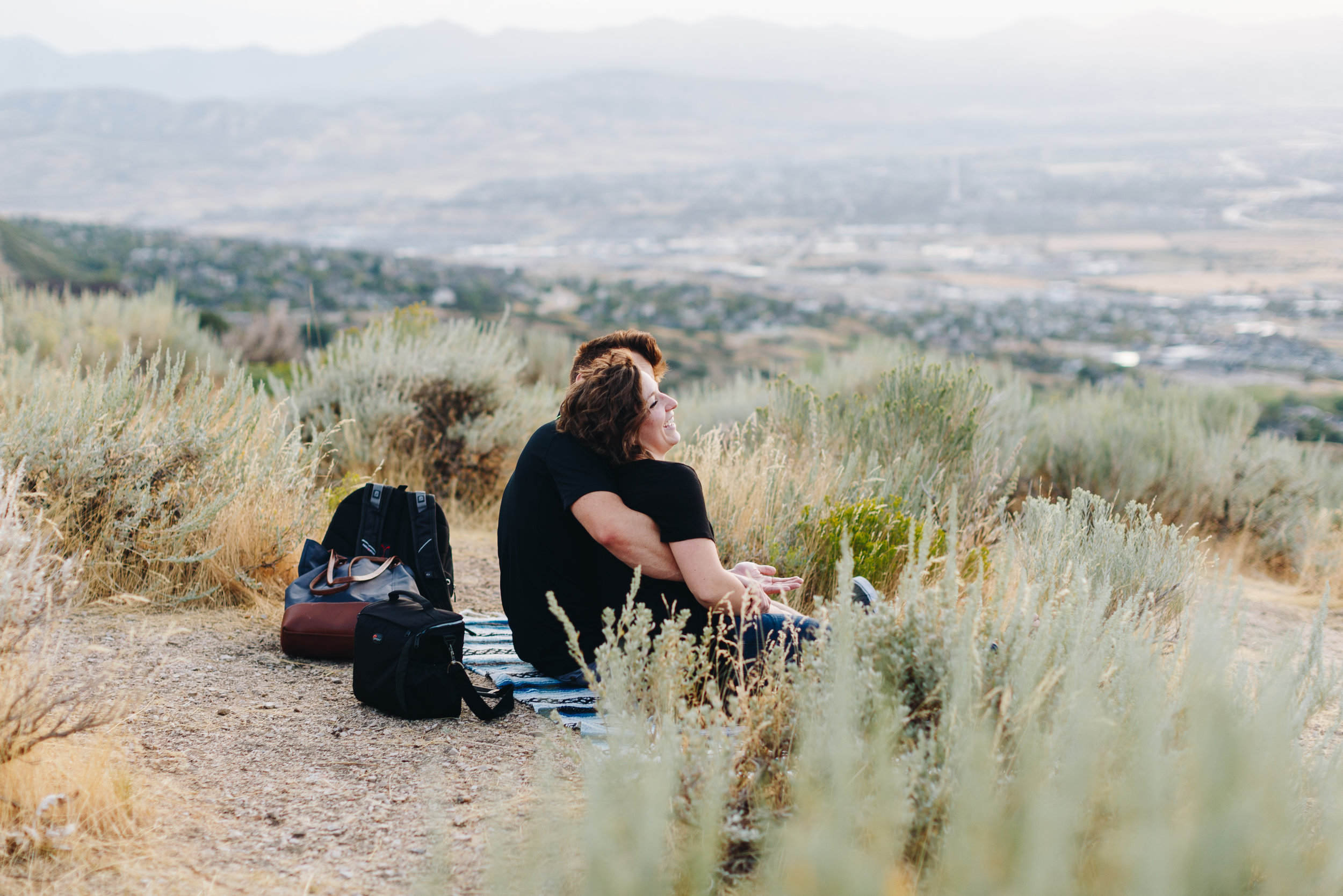 Utah Proposal and Engagement With a View // Andrew+Bethany