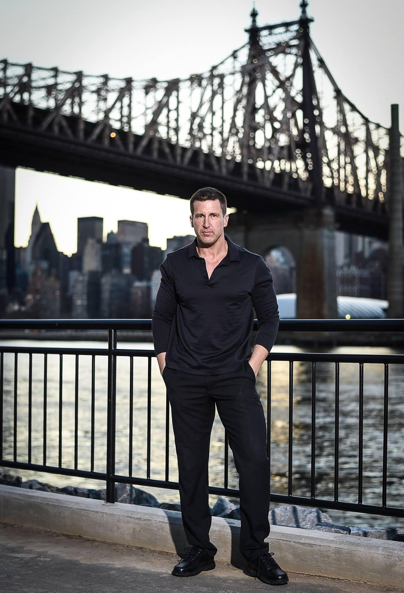Dave Kotinsky in Astoria Park, NYC
