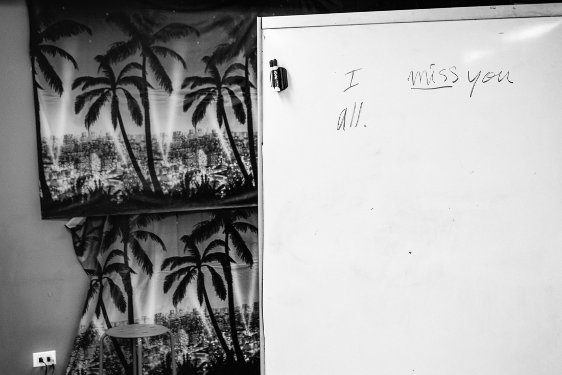 I miss you all. A photographic exploration about refugee resettlement in the US and particular Chicago.Refugees from Syria, Iraq, Laos, Cambodia and the Republic of Congo who came to Chicago between 1983 and 2016 are sharing their struggles, hopes and dreams and reflect on the significance of home, past, present and future.