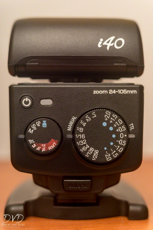 Back Dials of Nissin i40
